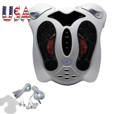 【USA】 Foot Massager Spa Machine Blood-Booster Circulation Foot Care Relax Device