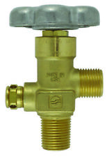 """SHERWOOD CO2 VALVE FOR STEEL TANKS - 0.50"""" NGT TAPERED THREAD"""