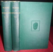 Sir Walter Scott Journals, 1890 2Vol Set, Abbotsford Map