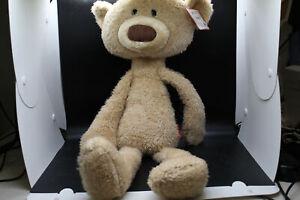 "GUND Toothpick Teddy Bear Stuffed Animal Soft Plush, Beige, 22"""