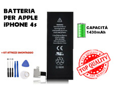 BATTERIA BATTERY APPLE IPHONE 4S 4 S CAPACITA' ORIGINALE APN 616-0580 1430 MAH