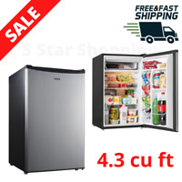 Mini Fridge With Freezer Look 4.3 Cu Ft Dorm Office Small Refrigerator Compact