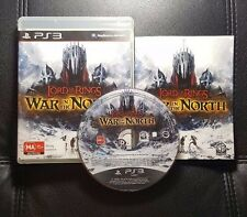 The Lord of the Rings War In The North (Sony PlayStation 3, 2011) PS3 FREE POST