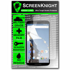 ScreenKnight Motorola Google Nexus 6 FRONT SCREEN PROTECTOR invisible shield
