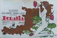 """""""PETULIA"""" Parution entoilée Jean FOURASTIE (Richard LESTER / Julie CHRISTIE)"""