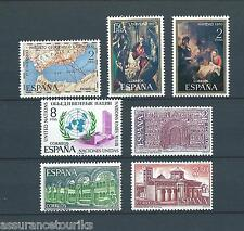 ESPAGNE - 1970 YT 1656 à 1662 - TIMBRES SELLOS NEUFS** LUXE