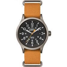"Timex TW4B04600, Men's ""Expedition"" Orange Nylon Watch, Scout, TW4B046009J"