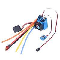 120A ESC Sensor Brushless Speed Controller for 1:8 1:10 RC Car/Truck Crawler #1