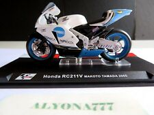 1/24 Ixo HONDA RC211V Makoto Tamada 2005 Bike Motorcycle 1:24 Altaya / IXO *NEW*