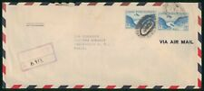 Mayfairstamps US Registered to Washington DC Cover wwp18257