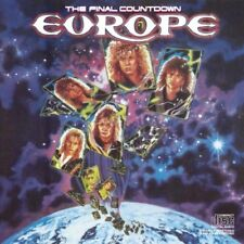 Europe CD The Final Countdown Epic EK 40241 Love Chaser Rock the Night DADC DIDP