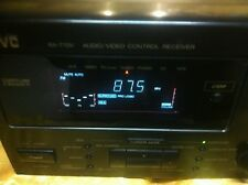 Jvc Rx-770V A/V Stereo Receiver Only Black home theater audio video controller