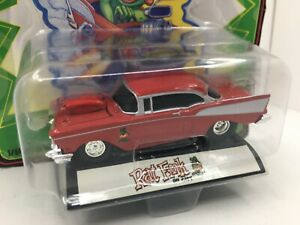Racing Champs RAT FINK * 1957 Chevy Belair* Rare Red Version* 1:64