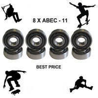 8 Abec 11 pro Wheel bearings Skateboard scooter Quad inline Roller skate 5 7 9