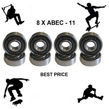 8 Abec 11 pro Wheel bearings Skateboard scooter Quad inline Roller skate 5 7 9