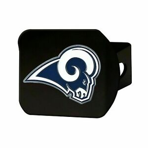 Los Angeles Rams NFL Black Hitch Covers