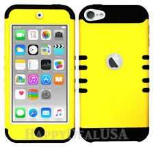 For Apple iPod Touch iTouch 5 | 6 - KoolKase Hybrid Cover Case - Yellow (R)