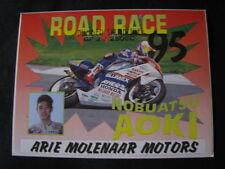 Card Blumex-Rheos Team Molenaar Honda NSR250 1995 Nobuatsu Aoki (JAP)