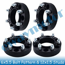6x5.5 Wheel Spacers for M12x1.5 Tacoma (6 Lug Only) 2001-2008 , Tundra 2000-2006