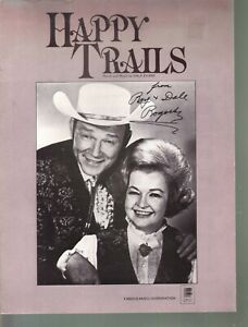 Happy Trails Roy Rogers Dale Evans Sheet Music