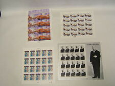 4 US MNH Sheets 32 Ct Organ Donation Space Discovery Klondike Hitchcock BR $25.6