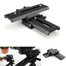 2-way Macro Shot Focusing Focus Rail Slider for Canon Nikon Camera D-SLR K6P2