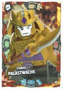 Lego ninjago Series 6 Die Insel TCG Card No. 65 Strong Palace Guard