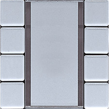 Jung AL 2094 NABS EIB KNX Tastsensor 4fach Universal Serie LS alu AL2094NABS OVP