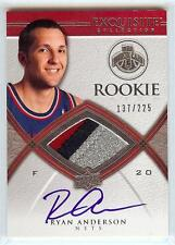 2008-09 EXQUISITE RYAN ANDERSON RC AUTO 3 COLOR PATCH 137/225!!