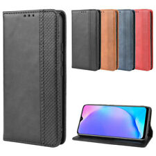 Case For vivo Y12 Magnetic Flip PU Leather Wallet Cover Protective
