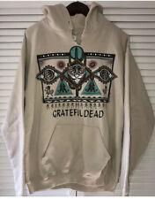 Vtg 1995 Grateful Dead Tribal Native American Hoodie Jester Tour Medium M