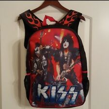 KISS Backpack Paul Stanley Gene Simmons **NEW**