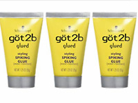 3X- GOT 2b GLUED STYLING SPIKING GLUE, HOLDS STRONG HAIR 1.25 Oz