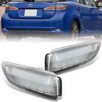 Clear Lens Rear Bumper LED Brake Lights For 11-13 Toyota Corolla Lexus CT200H