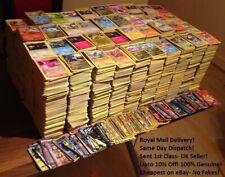 5-1000 Mixed Pokemon Card Bundles-Guaranteed HOLO/RARE- Genuine UK cards/seller!