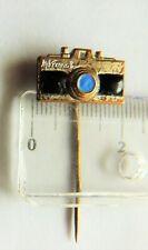Mikroma Meopta camera crest badge historic pin anstecknadel