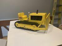 Vintage Tonka Bulldozer Yellow 9 Inches Long