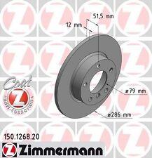 Bmw E36 Serie 3 Par De Zimmermann Frontal Discos De Freno (34111160673)