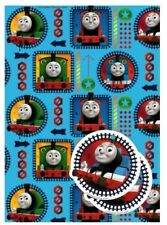 Official THOMAS and FRIENDS Gift Wrapping Paper Sheets and Tags 2 PACK New Seal