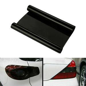 "12""X40""/30x100cm Dark Smoke Black Tint Film Headlights Tail light Car Vinyl Wrap"