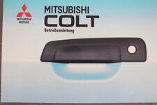 """Mitsubishi COLT """"CJO""""  Bedienungsanleitung """"1995""""  Betriebsanleitung - Handbuch"""