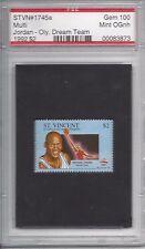 1992 Olympic Dream Team Stamp $2 - Michael Jordan Psa / Pse 100+ Hof Gem 10