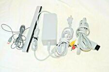 Wii Power AV Sensor Bar Lot OEM Original Nintendo RVL-026 Video AC Adapter Cords