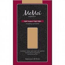 MEMOI LIGHT SUPPORT THIGH HIGHS 30 DENIER # MS-745--SIZE M/L-COLOR HONEY