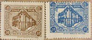 ecuador  Stamps Post Office.