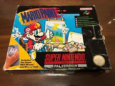 Boxed Mario Paint Super Nintendo Game & Mouse!  OZ Seller FAST POST SNES