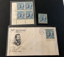 1947 Canadian 4 Cent Stamp Alexander Graham Bell