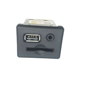 USB SD Card Memory Slot Aux Socket Switch for Vauxhall Insignia & Zafira C GM