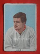 VECCHIA FIGURINA RASA calcio football 1961 MANTOVA Luigi Gigi Simoni