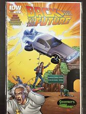 Back To The Future #1 NM 9.4 Geoffrey's Hi De Ho Comics Store Variant!